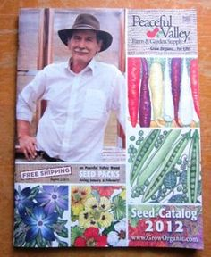 Peaceful Valley Seed Catalog. Read the full catalog review at www.vegetablegardener.com