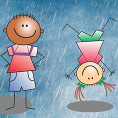 Quelques idées d'activités pour occuper les enfants les jours de pluie !!