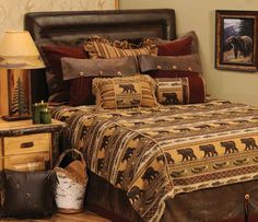 Best 53 Best Bedding For Western Southwestern Cabin And Lodge 400 x 300