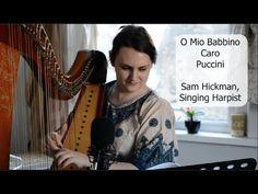 O Mio Babbino Caro - Puccini - Sam Hickman, Singing Harpist