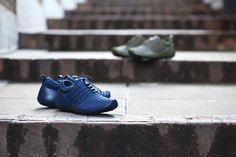 Closer look at the Nike Payaa Premium QS Midnight Navy & Cargo. Available now. http://ift.tt/1kVGDWY