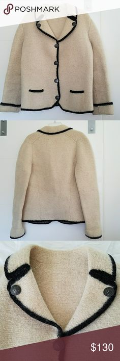 RARE HOFER MADE IN AUSTRIA WOOL Double sided buttons Great condition  36-46 bust 25 length  26 sleeve HOFER Jackets & Coats