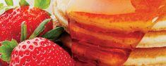 Αμερικάνικα πάνκεϊκ (Pancakes) Pancakes, Strawberry, Deserts, Banana, Fruit, Breakfast, Food, Morning Coffee, Essen