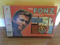 Vintage 1976 - The Fonz Hanging Out at Arnolds Board Game - Original Old Board Games, Vintage Board Games, Game Boards, Retro Toys, Vintage Toys, Vintage Stuff, Fun Games, Games To Play, The Fonz