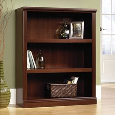 Florida Bookcase with Three Shelves – Select Cherry | The Brick