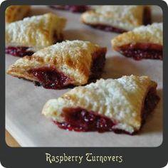 Raspberry Turnovers