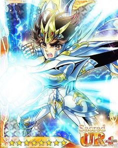 Seiya God Cloth, Saint Seiya Card.
