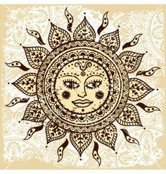 Ambesonne Mandala Decor Collection Ethnic Female Sun with Floral Cheeks and Unique Indian Tribal Patterns Purity Symbol Bedroom Living Room Dorm Wall Hanging Tapestry Brown Yellow >>> You can find more details by visiting the image link. Sun Mandala, Mandala Tapestry, Mandala Tattoo, Mandala Art, Tattoo Art, Mandala Blanket, Hippie Sun Tattoo, Indian Tapestry, Hippie Home Decor