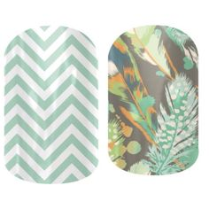 Beautiful Feathers Jamberry Nails. Visit http://shannonbrown.jamberrynails.net to place your Jamberry order!