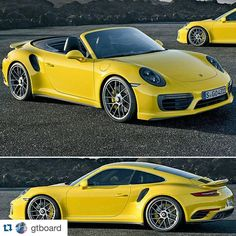 Lovely wheels on the facelifted 911 Turbo S. Finally! .