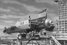 """Fireball XL5"" was the first and only Supermarionation adventure series ever aired on a US TV network when it ran as part of the Saturday morning lineup on NBC beginning in the fall of 1963.    Also, it was the sexiest fictional spaceship on TV until the Jupiter 2 debuted on ""Lost in Space"" in 1965."