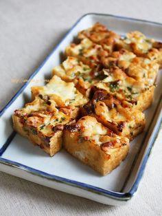 厚揚げの大葉味噌チーズ焼き Tofu Recipes, Low Carb Recipes, Real Food Recipes, Cooking Recipes, Yummy Recipes, Deep Fried Tofu, Low Sugar Diet, Low Carb Side Dishes, Tasty