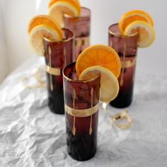 The 'Champagne Cup' cocktail. A vintage toast to the New Year!