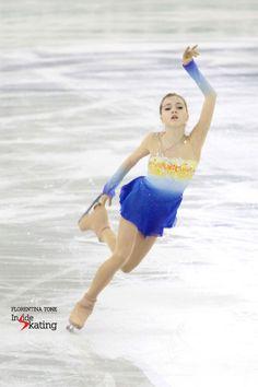 Elena Radionova skating her wonderful free program to Rachmaninov at 2014 GPF