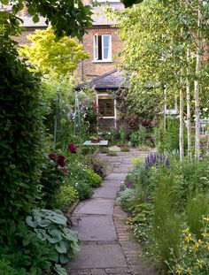 Need some low maintenance garden design ideas? Learn the fundamentals and tips to creating the perfect low mainteance outdoor space in our feature article. Cottage Garden Design, Diy Garden, Small Garden Design, Shade Garden, Dream Garden, Garden Paths, Small Narrow Garden Ideas, Cottage Garden Patio, Indoor Garden