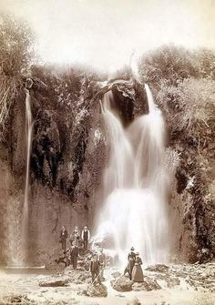 Spearfish Falls.June 22, 1890