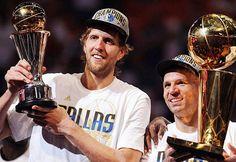 Dirk Nowtzki NBA Finals MVP Jason Kidd NBA Champions Dallas Mavericks Love And Basketball, Sports Basketball, Nba Playoffs, Dallas Mavericks, Nba Champions, Finals, Captain Hat, Baseball Cards, Legends