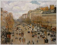 Image result for the boulevard montmartre afternoon
