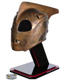 Original screen-used Rocketeer helmet from The Rocketeer