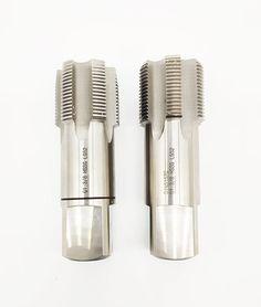 Whitworth-threads have a steeper fl ank compared to metric threads: thread angle 55° compared to thread angle 60° of metric threads. #thread #cutting #HandTaps #MachineTaps #ThreadCuttingTool #DrillBit Internal Thread, Machine Tools, Hands