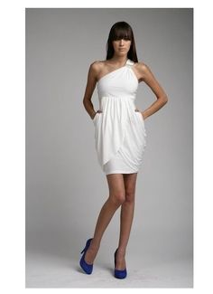 Casual White dress.