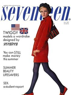 Seventeen Magazine and Twiggy