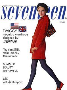 Seventeen Magazine and Twiggy