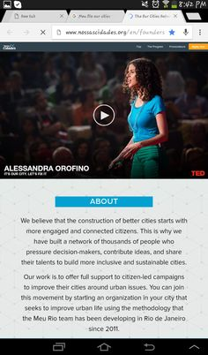"""OurCities.org is an intiative to involve locals into shaping their cities thtough providing a number of collaborating web platforms. Originated in Brazil as """"Meo Rio"""" it's expanding though a global programme to launch similar platforms in new cities   #hybrid_urbanism #HU_company"""