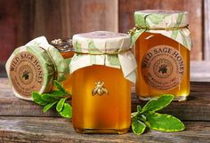 California Harvest...Savor the Flavors of the California Wine Country - Wild Sage Honey