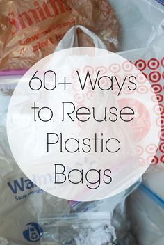 Ways to Reuse Plastic Bags Even if you use reusable shopping bags, there's a good chance you still have plenty of plastic bags around the house. Here are some practical and crafty ways to reuse them! - Ways to Reuse Plastic Bags Reuse Plastic Bags, Plastic Bag Crafts, Plastic Bag Crochet, Fused Plastic, Plastic Bag Storage, Plastic Shopping Bags, Plastic Grocery Bags, Reusable Shopping Bags, Reuse Plastic Containers