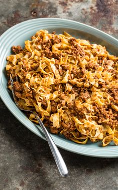 Ragu alla Bolognese. Our Bolognese sauce uses six different types of meat, and a combination of red wine and tomato paste to produce a super rich and savory interpretation.