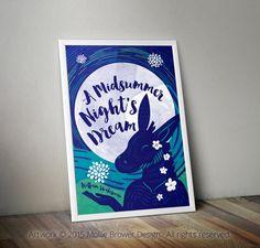 Shakespeare's A Midsummer Night's Dream by MollieBrowerDesign