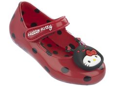 a53b03d36 Sapatilha Infantil My Hello Kitty Pet Baby - Grendene Kids - 21118  Preto/Vermelho
