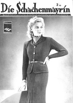 The Vintage Pattern Files: Free 1940's Knitting Booklet - Die Schachenmayrin 02…