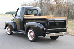 Might need a griller color but this truck is so wonderful!!  1950 Ford Truck | Barrett-Jackson Lot #414.2 - 1950 FORD F-1 PICKUP