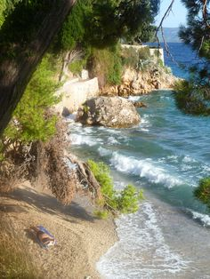 beach near the Dominican monastery, Bol, Brac, Croatia