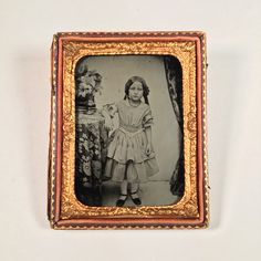 Adorable Quarter-Plate Ambrotype of a Girl by BittenbenderAndMoll