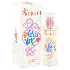 Miss Fiorucci Only Love Perfume 1.7 oz Eau De Toilette Spray