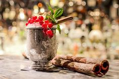 The Best Holiday Cocktail Recipes #refinery29  http://www.refinery29.com/holiday-cocktails#slide-8  Silent Night Cap  Serves: 1 When Kate Moss partied at the Playboy Club this month to celebrate her cover for the iconic mag's 60th birthday, Salvatore Calabrese, a.k.a Sal, was the guy they turned to for the cocktails. And, if it's good enough for Ms. Moss, it's good enough for your holiday party.    40 ml Sherry 20 ml Cognac 20 ml anise syrup 10 ml Cointreau Pinch of cinnamon powder Fresh…