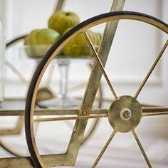 Rolling Carts - Mercana Art Decor
