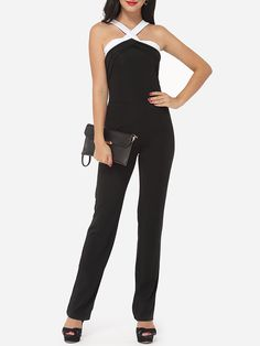 #AdoreWe #FashionMia Jumpsuits - FashionMia Assorted Colors Awesome Extraordinary Jumpsuits - AdoreWe.com