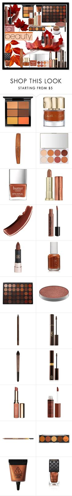 """""""Fall Beauty"""" by marionmeyer ❤ liked on Polyvore featuring beauty, MAC Cosmetics, Smith & Cult, Rimmel, Urban Decay, Jouer, Charlotte Russe, Anastasia Beverly Hills, Essie and Morphe"""