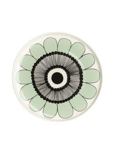 Marimekko Kestit plate 20 cm Kitchenware, Tableware, Marimekko, Kitchen Accessories, Diy And Crafts, Home Appliances, Plates, Green, House Appliances