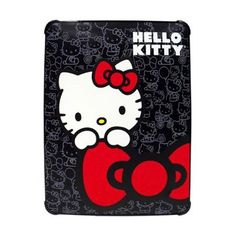 Hello Kitty iPad 3 Case Black Polycarbonate for sale online Gadgets Online, Electronics Gadgets, Hello Kitty Accessories, Ipad Air 2 Cases, Tablet Cases, Hello Kitty Collection, Diwali Gifts, Ipad Sleeve, Festival Lights