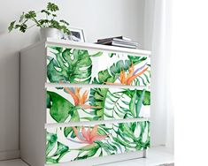 Upgrade your walls with this elegant Tropical Decor Wallpaper Mural adding an exclusive touch to your personal style and surprise your family and friends. Temporary Wallpaper, More Wallpaper, Fabric Wallpaper, Furniture Covers, Ikea Furniture, Self Adhesive Wallpaper, Tropical Decor, Textured Walls, Amazing