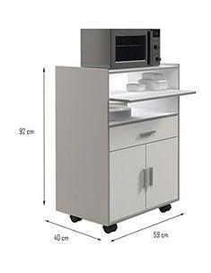 mueble auxiliar de cocina para microondas - Buscar con Google ...