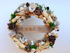 #noridekor #egyedi #céges #dekoráció Floral Wreath, Wreaths, Home Decor, Floral Crown, Decoration Home, Door Wreaths, Room Decor, Deco Mesh Wreaths, Home Interior Design