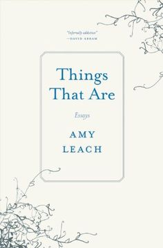 Things That Are: Essays by Amy Leach…