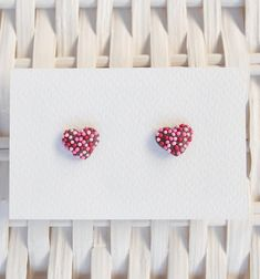 Valentines Day Earrings, Valentines Day Polymer Clay Earrings, Chocolate Freckle Earrings, Candy Heart Earrings, Polymer Clay Candy Jewelry