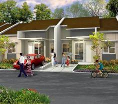 desain rumah tipe 45 hasil
